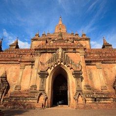 Archeological Htilominlo Temple