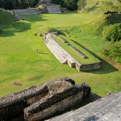 Remains ancient Maya city