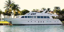 Beachfront yacht charter