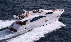 Majesty 88 yacht charter
