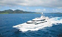 Lazy Z yacht charter