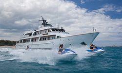 Big Eagle yacht charter