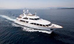Aura yacht charter