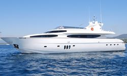 Beija Flore yacht charter