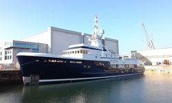 Steel yacht charter