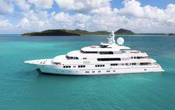 Titania yacht charter