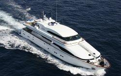 Wheels I yacht charter