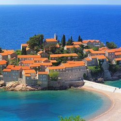 Iconic Island of Sveti Stefan
