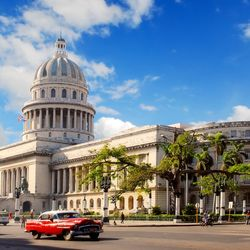 The Monumental Capitolio Building in Havana