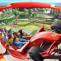 Ferrari World Photo 2