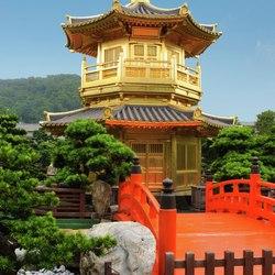 Gold pavilion