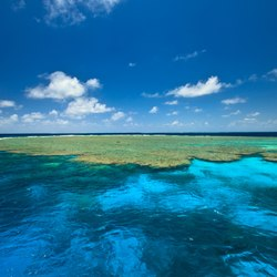View of Great Barrier Reef