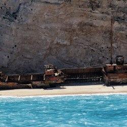 Shipwreck Beach (Navagio Beach) Photo 13