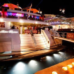 Force India's Vijay Mallya every year hosts one of the Monaco Grand Prix's most coveted parties on board his own 95m megayacht India Empress.