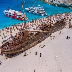 Shipwreck Beach (Navagio Beach) Photo 18