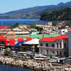Seaside city in Dominica