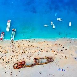 Shipwreck Beach (Navagio Beach) Photo 14