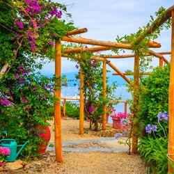 An ever green corner of the Italian Riviera