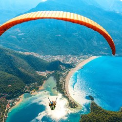 Paragliding off the Turquoise Coast
