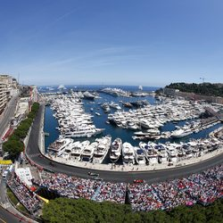 Some of the world's finest charter yachts anchor in the famous Monte Carlo harbour to witness the spectacular track side views and soak up the buzzing atmosphere.
