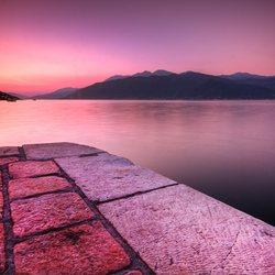 Pink Mediterranean Skies