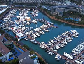 Brand New Footage From The Singapore Yacht Show 2017