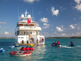 Superyacht 'Lady J' Reduces Rate For Bahamas Special