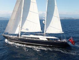 50m Sailing Yacht Silencio For Charter