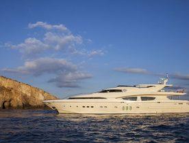 Motor Yacht RINI Joins Global Charter Fleet in the Mediterranean