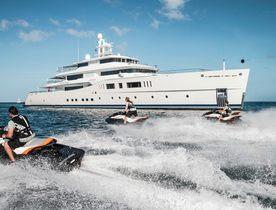 Picchiotti charter yacht 'Grace E' renamed superyacht NAUTILUS