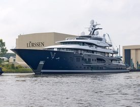 Lürssen Shipyard Comment on Their Brand New 85m Charter Yacht Solandge