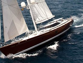 Sailing Yacht Ludynosa G Available to Charter in the Mediterranean