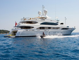 Superyacht MEAMINA has August Charter Gap