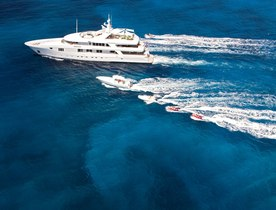 Luxury Yacht RHINO Available for Spring Charter in the Caribbean