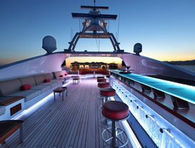 Benetti Motor Yacht 'Code 8' Opens for Abu Dhabi Grand Prix Charter