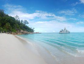 Superyacht CLOUDBREAK opens for Seychelles yacht charter