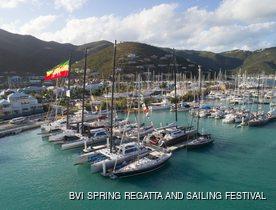 The British Virgin Islands prepares to host BVI Spring Regatta and Sailing Festival