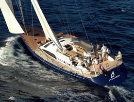 Sailing Yacht PTARMIGAN Now Taking Enquiries For Summer Charters In West Mediterranean