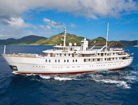 Video: Charter Yacht SHERAKHAN Undergoing Extensive Refit