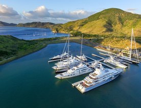 St Kitts harbour opens six new berths for superyachts of up to 122 metres