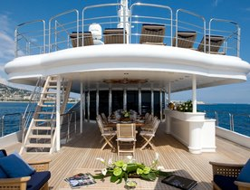 Superyacht INSIGNIA Available For Charter In Greece This Summer