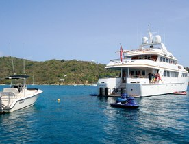 Charter Yacht 'Lady J' Provides Aid To The Caribbean