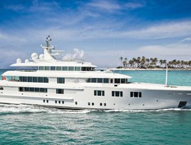 Amels charter yacht 'Lady S' changes name to 'Lady E'