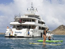 Superyacht TRENDING Reduces Weekly Rate By 15%