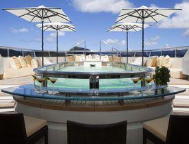 Save 15% on a Mediterranean yacht charter aboard motor yacht ROMA