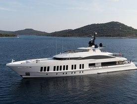 Superyacht SAMURAI now open for charter