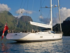 Sailing Charter Yacht 'SALPERTON IV' Available in the Caribbean