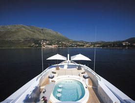 Benetti superyacht 'Andreas L' offers special rates on Mediterranean yacht charters
