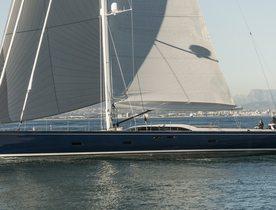 Sailing Yacht FARFALLA Nearly Fully Booked in the Mediterranean