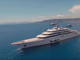 Video: World's Largest Charter Yacht ECLIPSE Filmed By Drone